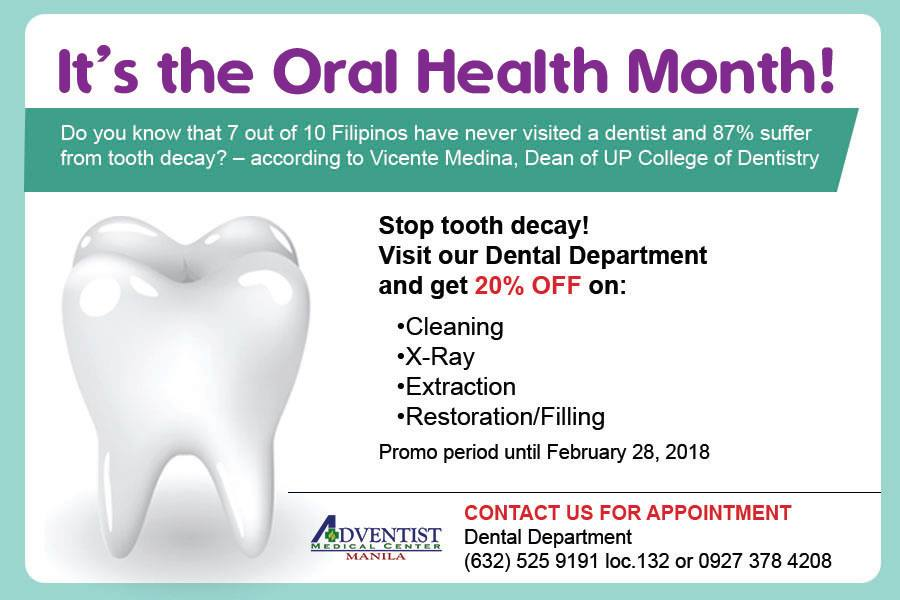 Celebrate Oral Health Month with a Blast!